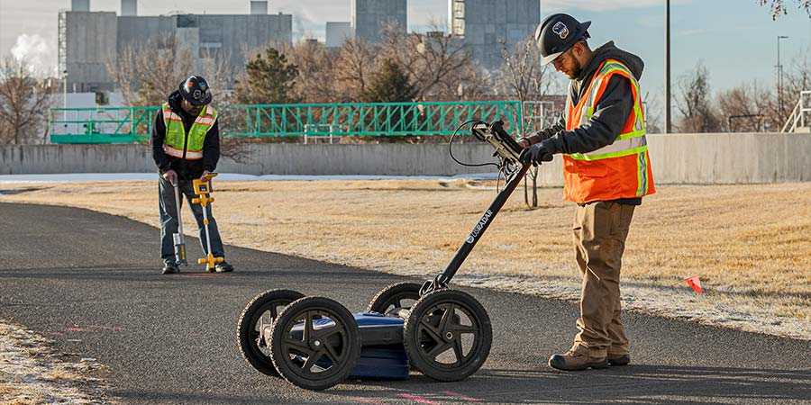 Ground Penetrating Radar (GPR) - Kinetic Hydrovac