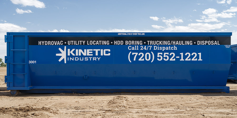 Roll-Off Dumpster Rentals - Kinetic Hydrovac